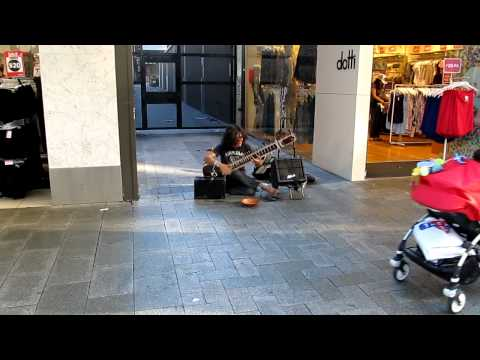 Sitar in the Perth's streets