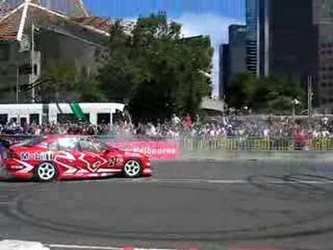 Holden V8 Supercar Burnout, Mark Skaife