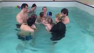 Плавание малышей -Обучение плаванию в бассейне в Минске для детей (Курсы,Секция,занятия)