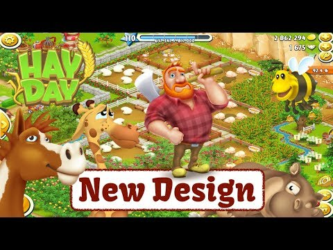 Hay Day Live - New Design