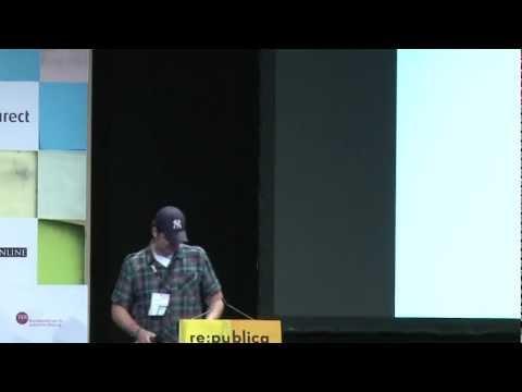 re:publica 2012 - Sascha Pallenberg - Wie die deutsche Blogosphäre veramerikanisiert wird on YouTube