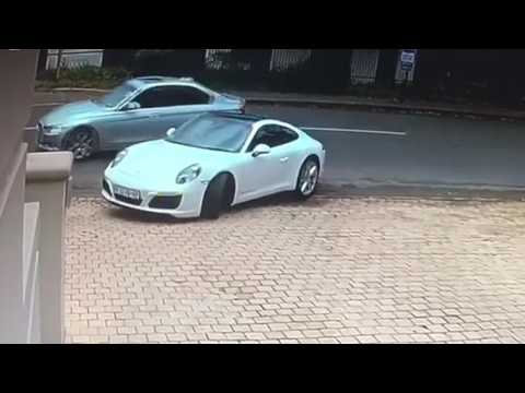20170513 Attempted hijacking of a Porche