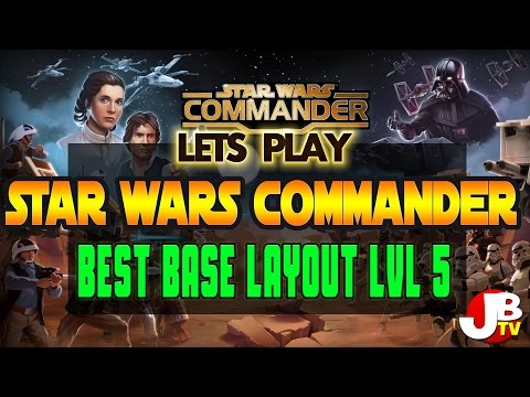 Best base layout Star Wars Commander level 5