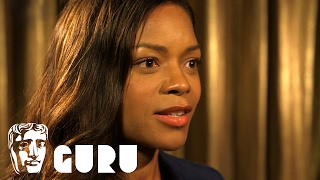 "Naomie Harris' inspirational acting advice: ""use fear as something positive"""
