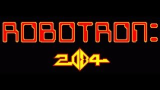 Classic Arcade Game Robotron 2084 on PS3 in HD 1080p