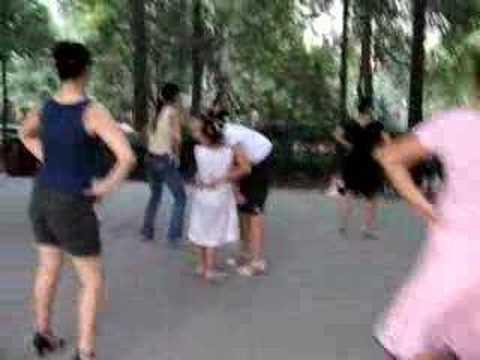 Latin dance lesson - Chengdu, China