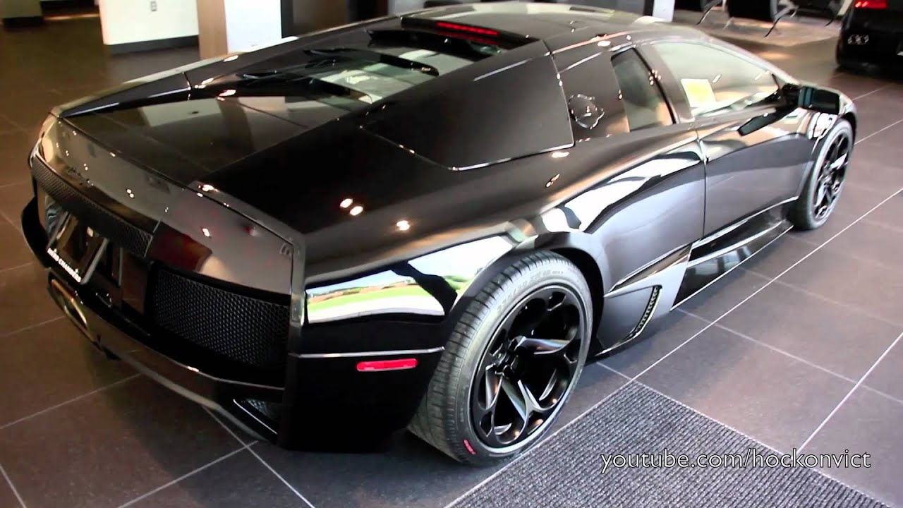 All Black Lamborghini Murcielago Lp640 Youtube