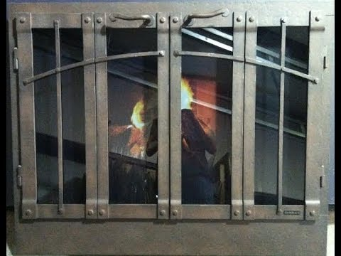 Ironhaus Fireplace Doors - Part 1 - Installing the Mason's Form - Ironhaus Fireplace Doors - Part 1 - Installing The Mason's Form