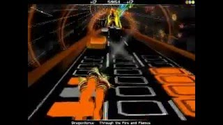 Through The Fire and Flames - Audiosurf