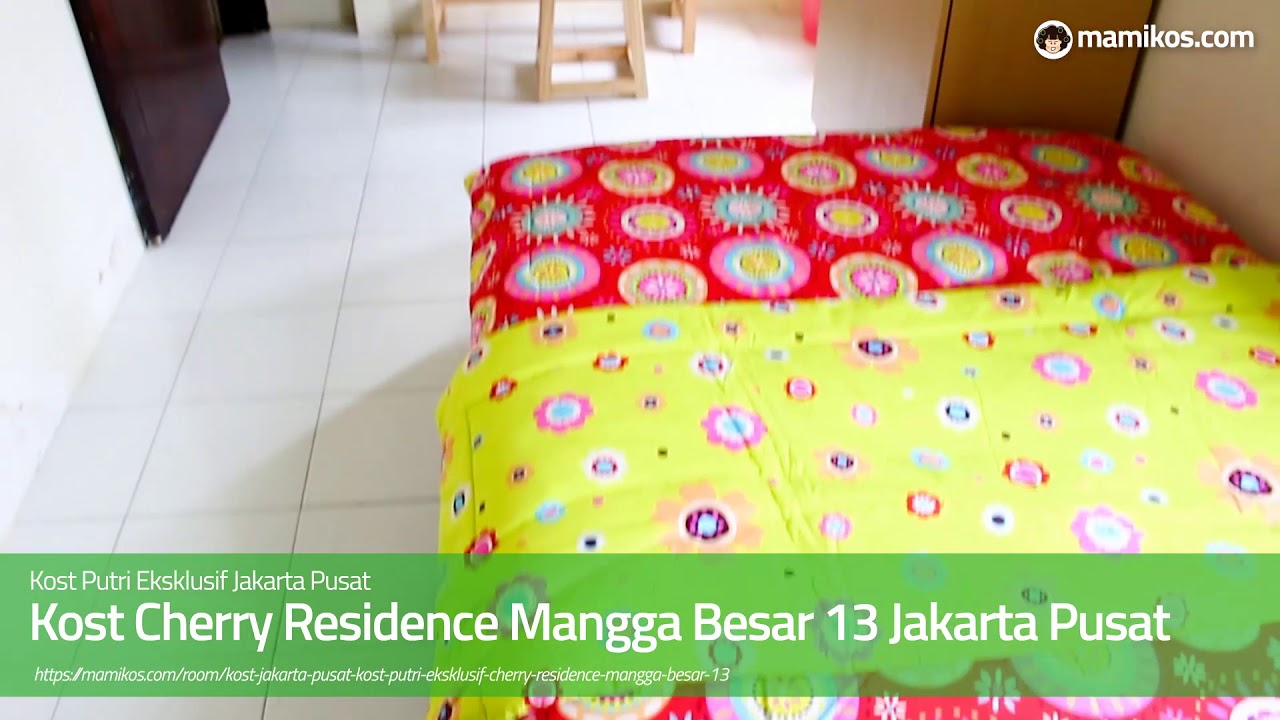 Kost Cherry Residence Mangga Besar 13 Jakarta Pusat - YouTube