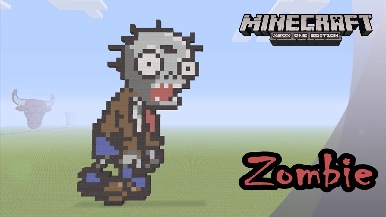 how to get a zombie head in minecraft xbox