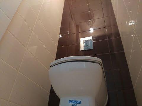 ДИЗАЙН и РЕМОНТ не дорогой ванной комнаты. г. Владимир