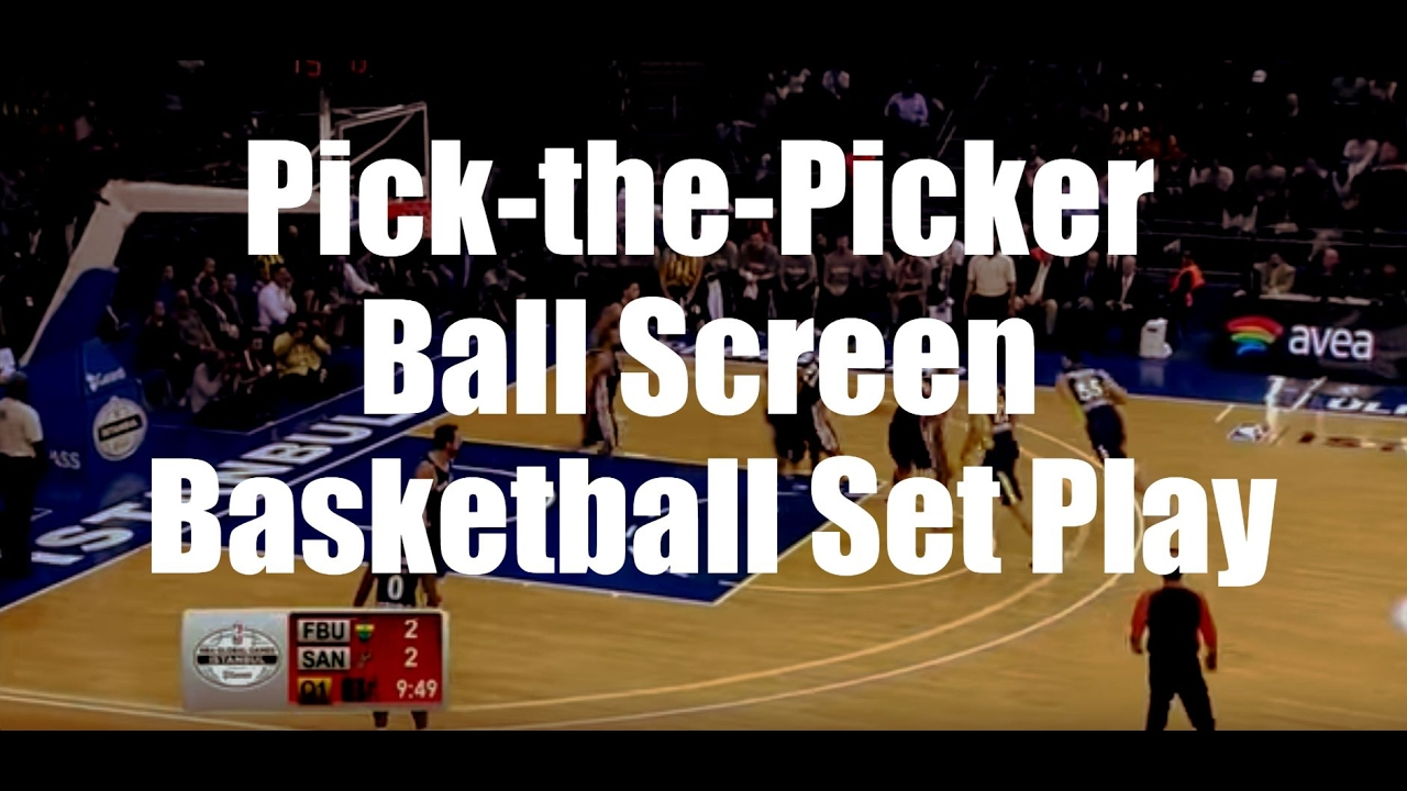 how to use screens basketball