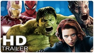 ALLE MARVEL Filme Trailer German Deutsch (MCU) 2008 - 2017