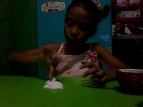How to make stretchy and cliky slime(Glue, lotion, baby oil, power gel)