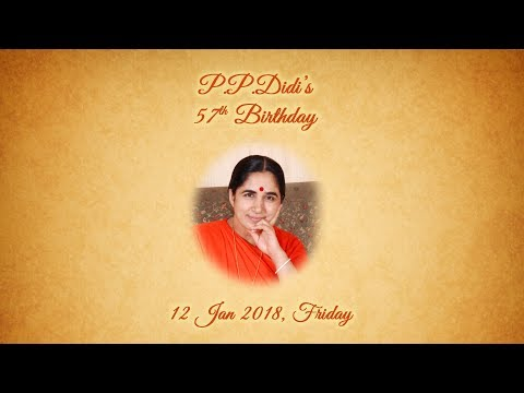 P P  Didi's 57th Bday 12 Jan 2018, Friday