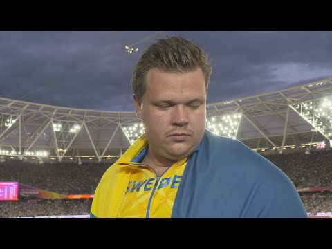 WCH 2017 London - Daniel Stahl SWE Discus Throw Silver