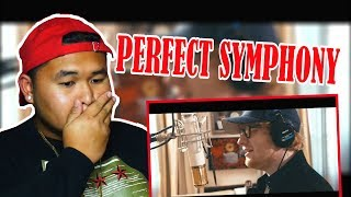 Ed Sheeran - Perfect Symphony (with Andrea Bocelli) | REACTION!