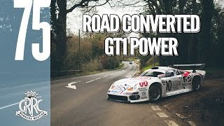 Road legal Porsche 911 GT1 shows its power and flare at 75MM