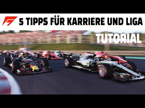 5 WICHTIGE TIPPS FÜR KARRIERE UND LIGA RENNEN IN F1 GAMES Deutsch/German