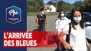 Equipe de France Féminine : l'arrivée des Bleues I FFF 2020