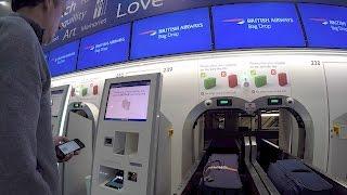 British Airways Self Baggage drop off