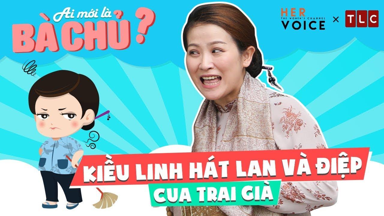 Ai Mới Là Bà Chủ? sitcom - Hậu trường: Kiều Linh Hát Lan và Điệp Cua Trai  Già