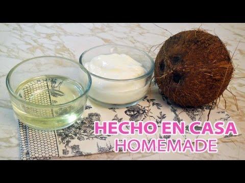 Como hacer manteca y aceite de COCO ♥ How to how make coconut oil