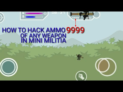 How to hack Mini militia with game Guardian