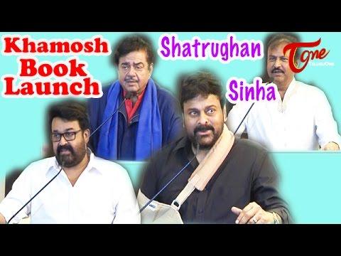 "Shatrughan Sinha's ""Khamosh"" Book Launch In Hyderabad"