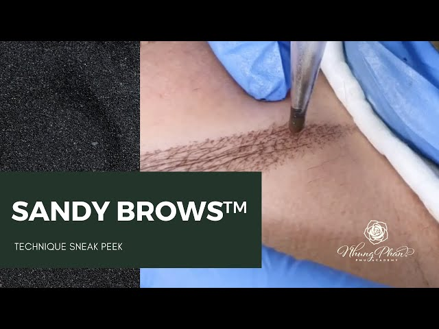 💥TECHNIQUE SNEAK PEEK💥| SANDY BROWS™️ EP. 2