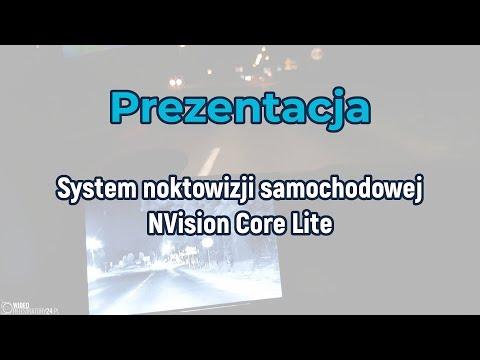 Prezentacja NVision Core Lite - System Noktowizora Samochodowego