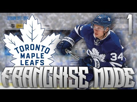 NHL 18 Maple Leafs Franchise Mode #1 - City of the young stars!