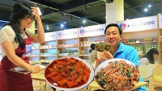 Lần Đầu Tiên Ăn Thử Món Hàn xem có khác món Việt / Đi Đâu Ăn Gì