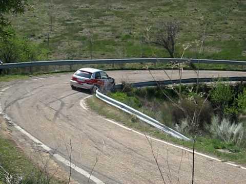 rallysprint aguaron 2010 johatan huerta y rebeca o...
