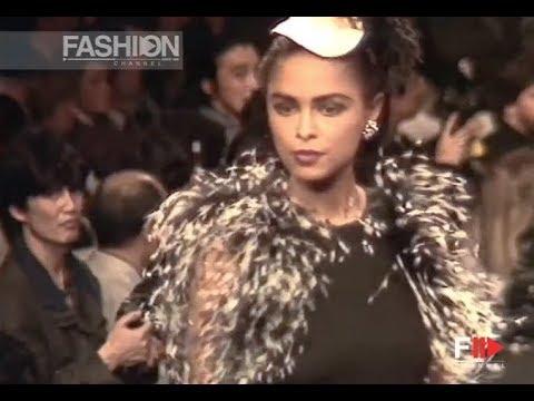 SONIA RYKIEL Fall 1991/1992 Paris - Fashion Channel