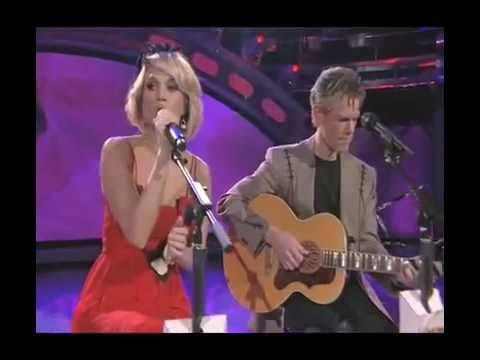 Carrie Underwood and Randy Travis - I Told You So - American Idol