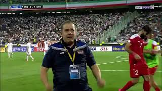 Футбольная сборная Сирии вышла в финальную часть чемпионата мира по футболу Russia-2018