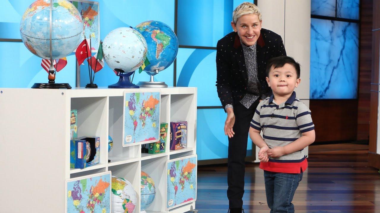 3-годишниот Ноа е експерт за географија