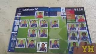 Panini Champions League 2014/2015 Sticker Album (Full completed)