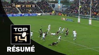 TOP 14 - Résumé La Rochelle-Grenoble: 40-3 - J15 - Saison 2016/2017