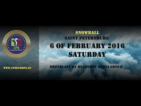 CPS Snowball 2016 / Saint Petersburg, Russia / Saturday