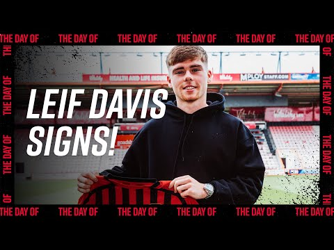 The Day Of: Leif Davis signs for AFC Bournemouth 🍒