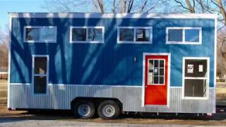 This Tiny House is a Mini Mansion on Wheels