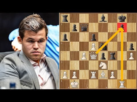 Curse is Lifted | Van Foreest vs Carlsen | Tata Steel Masters (2019)