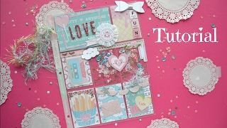 Pocket Letter Tutorial - Collaboration with Bambidearr - Little Hot Tamale Sweet Life Collection
