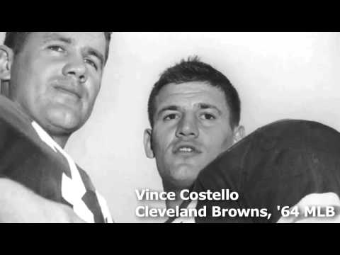 1964 Cleveland Browns MLB Vince Costello