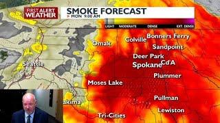 Hazardous Air Quality Continues