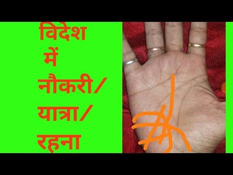 #17 Hand having foreign job/settlement yoga/palmistry in hindi