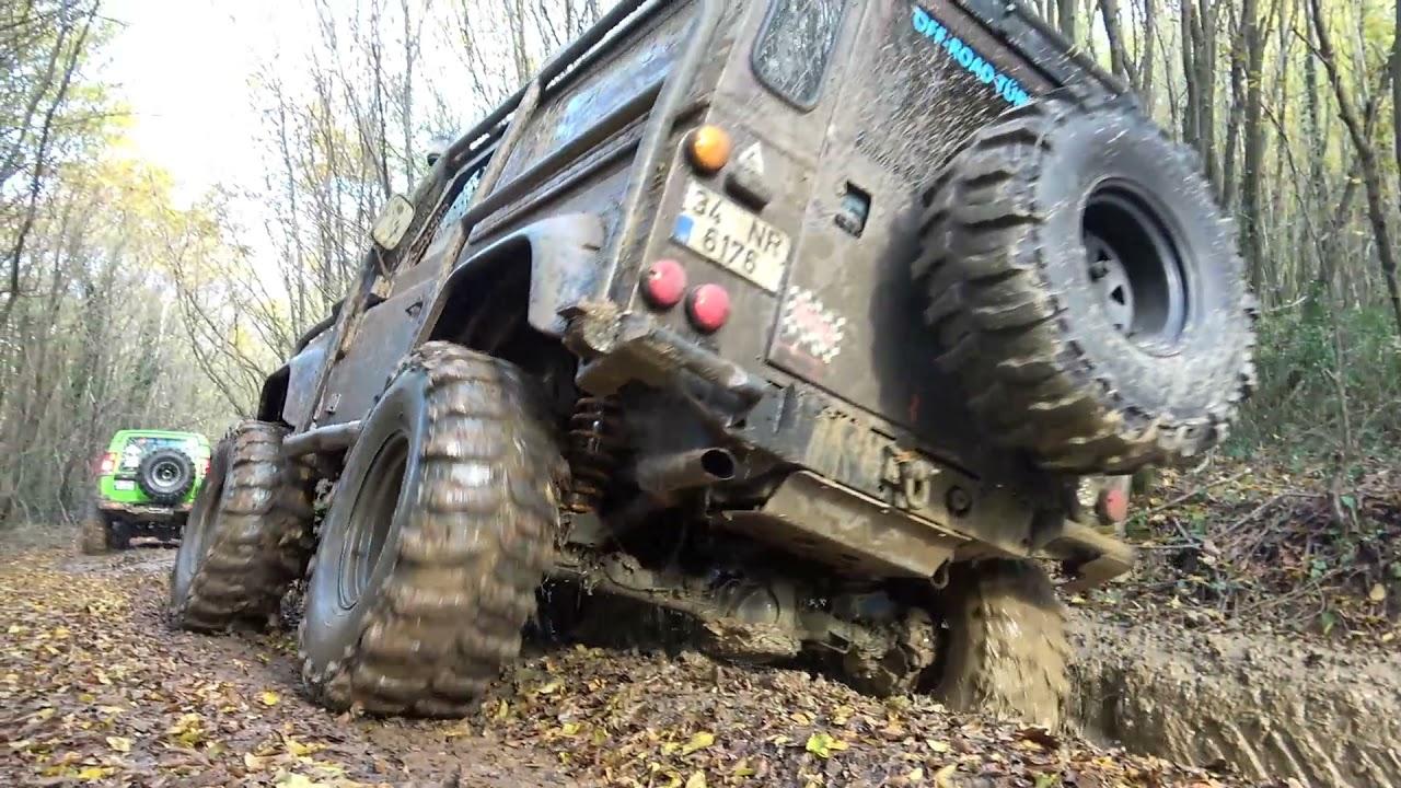 Land Rover Defender 90 TD5 - 37'' - Extreme OFF ROAD Compilation
